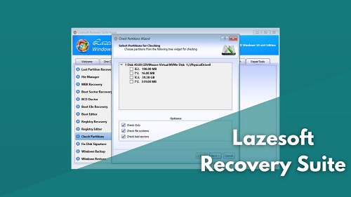 lazesoft recovery suite