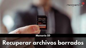 recuperar archivos memoria sd
