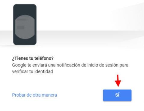 recuperar contrasena gmail movil android