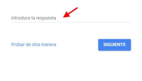 recuperar cuenta gmail pregunta seguridad