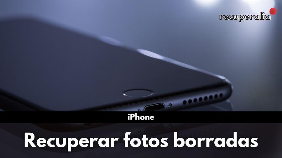 recuperar fotos borradas iphone