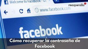 recuperar contrasena facebook