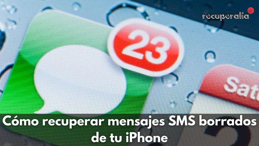 recuperar sms iphone
